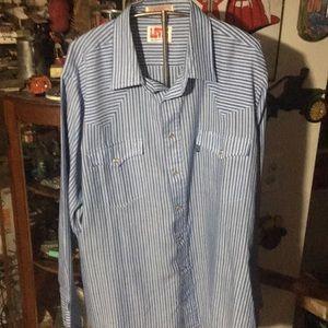 Vintage Levi's western dress shirt